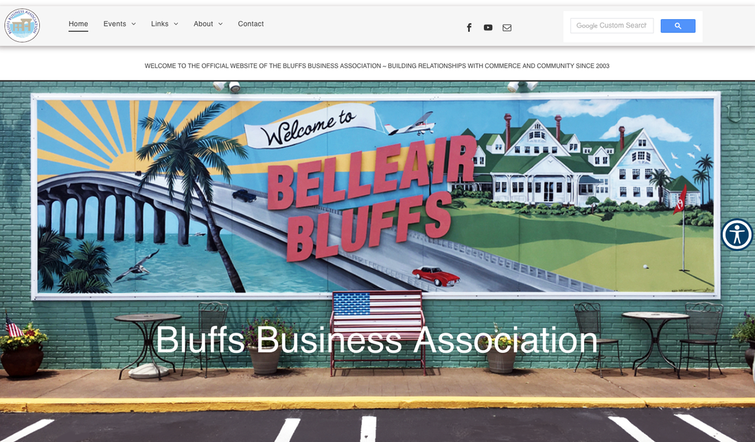 Bluffs Business Association Website Home