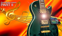 Zoom and guitar lesson, free webinar - IBLN, FBI Apps, Week-of-Rock - Rich Fustino, master musician